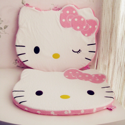 Hello Kitty Pink Seat Cushion