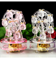 Luminous Light Ferris Wheel Music Box