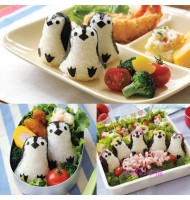 DIY Penguin Rice Mold