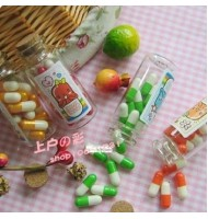 Wishing Bottle Mini Capsule Letter (Small Bottle)