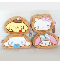 Kitty / Melody / Cinnamoroll / Pom Pom Purin Multipurpose Storage Bag