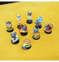 9 Different Stitch Figurine Miniatures