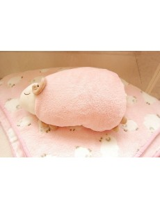 Aunt Merry Ship 2 in 1 Plush Cushion Pillow Blanket