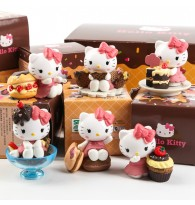 Hello Kitty Dessert Ornaments Figurine in Set (6pc)