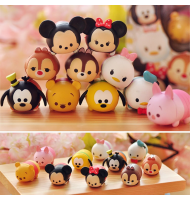 Tsum Tsum Jengga Ornaments Figurine in Set (10pc)