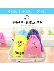 Travel Portable Shoe Storage Bag Dust Cover Thick Non-Woven