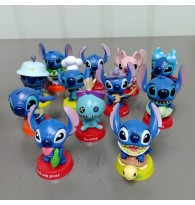 12 Different Stitch Figurine Miniature