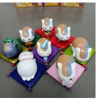 8pcs set Natsume Figurine Miniature