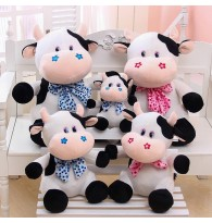 Happy Milk Cow Stuffed Plush