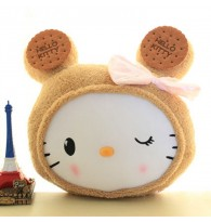 Hello Kitty Biscuit Cookie Hand Warmer Cushion