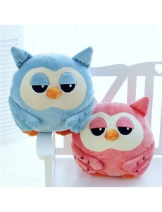Owl 3 in 1 Hand Warmer Blanket Pillow