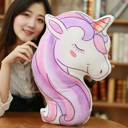 Unicorn Pony Printed Cushion Pillow Plush
