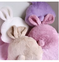Rabbit Shape Hand Warmer Cushion Plush