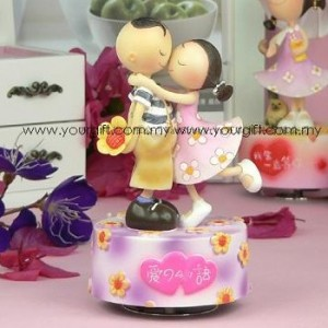 [Defect] Love Knot Series Love Story Music Box CS0130