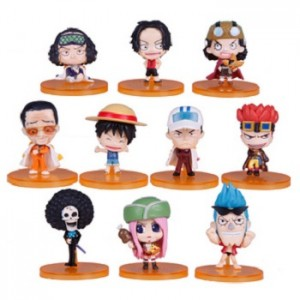 10Q of One Piece Colorful Figurine