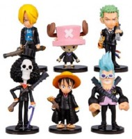 Tony Chopper Q6pcs Miniature Figurine