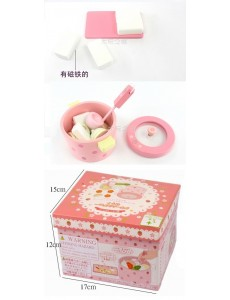 Strawberry Vegetable Hot Pot Wooden Toy (AB0335-2)