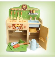 Mother Garden Strawberry Safari Park Kitchen Wooden Toys