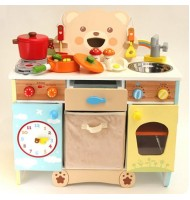Mother Garden Strawberry Bear Kitchen Wooden Toy