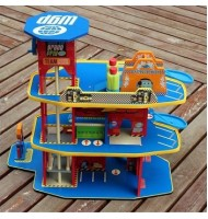 Cars2 3Floor Car Park Wooden Toy