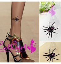 Spider Tattoo Tights Sheer Stockings