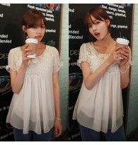 Lacy for You Pullovers Blouse