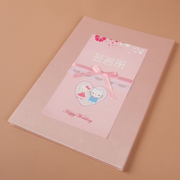Hello Kitty Wedding Signature Book Guest