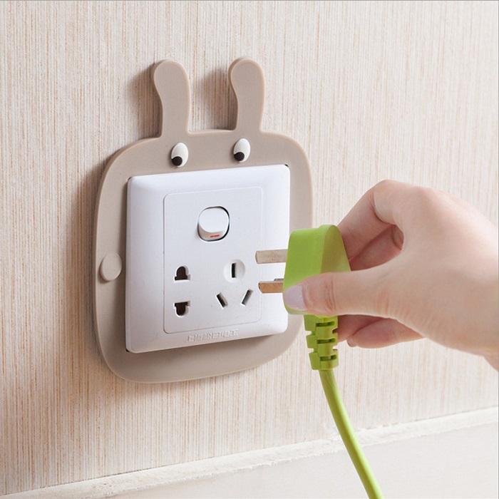 Cartoon Luminous Wall Switch Decorative Sticker