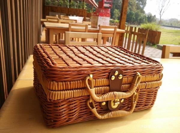 Wooden Picnic Basket Set : Strawberry wooden toys picnic basket end pm